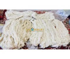 Пряжа-нитки из шерсти овец, деревенские, ручной работы