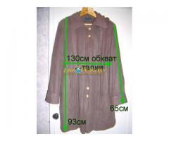 Куртка с капюшоном и подстежкой на замке, р.50-52