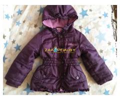 Сиреневая куртка на весна-осень на 1-2года