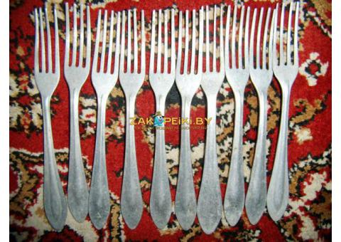 Алюминиевые вилки из 50-60х годов