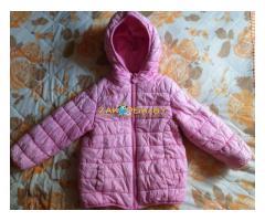 Куртка розовая весна-осень, на 1.5-2.5г, б.у
