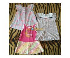 Лот детских платьев р.74-80 на 12мес, б.у